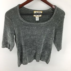 Heirloom Collectibles Gray Sweater